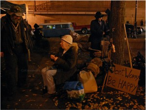Occupy Portland re-occupation