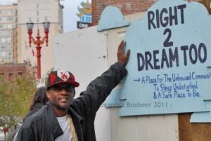Right to dream project in Portland, Oregon